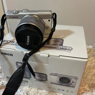 Canon - canon EOSM 100WH-WZOOMKIT