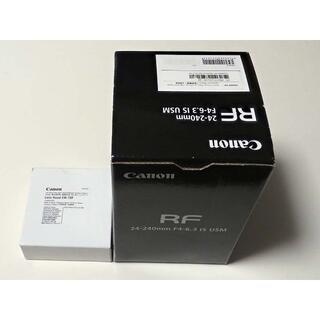 Canon - 【新同・保証有】RF24-240mm F4-6.3 IS USM フード付