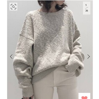 L'Appartement DEUXIEME CLASSE - L'Appartement Volume Sleeve Knit ニット