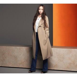 エイチアンドエム(H&M)のお値下げ!未使用⭐︎安室奈美恵×H&M トレンチコート 38サイズ(トレンチコート)