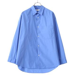 COMOLI - グラフペーパー 21ss サックスシャツ