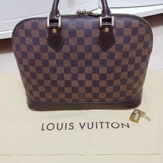 LOUIS VUITTON - ルイヴィトン アルマ ダミエ 南京錠・保存袋美品あり LOUISVUITTON