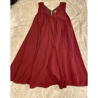 ※最終値下げ ルージュヴィフ Rouge vif la cle 赤ドレス(ひざ丈ワンピース)