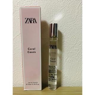 ZARA - ZARA ロールオン 香水 Choral cassis