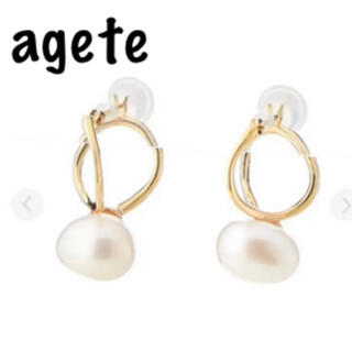 agete - agete/パール/フープピアス/K10