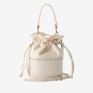 dolce. bi-color bag / white