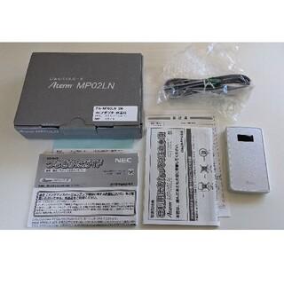 NEC - 【中古】NEC PA-MP02LN-SW SIMフリー モバイルルーター