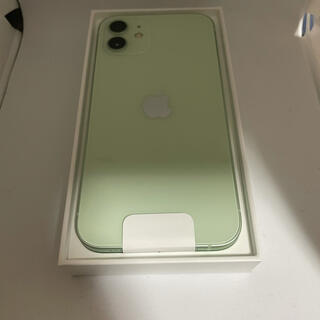 アップル(Apple)の新品未使用 iphone12 64GB グリーン(スマートフォン本体)