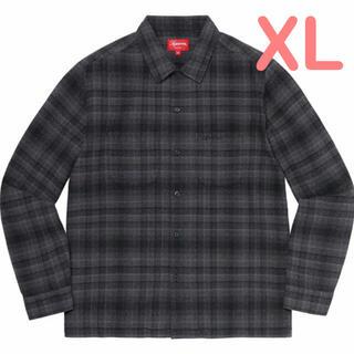 Supreme - 【XL】SUPREME Plaid Flannel Shirt ネルシャツ 黒