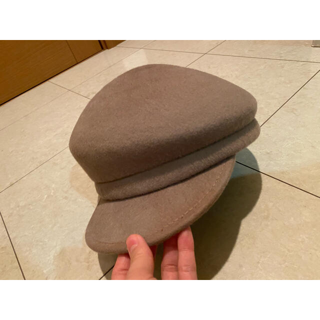 CA4LA(カシラ)の無 3点セット レディースの帽子(ハンチング/ベレー帽)の商品写真