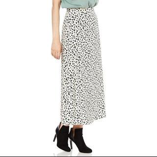 NATURAL BEAUTY BASIC - natural beauty basic レオパードプリントスカート