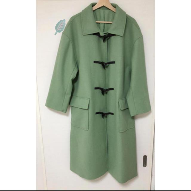 Mila Owen(ミラオーウェン)の MilaOwen ロングダッフルコート レディースのジャケット/アウター(ロングコート)の商品写真