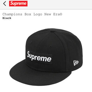 Supreme - Supreme Champions Box Logo New Era Black