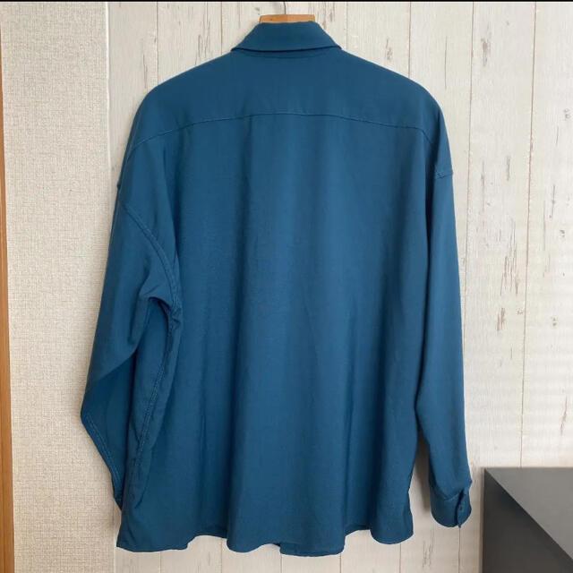 Marni(マルニ)の19SS marni トロピカルウールシャツ ペトロール 44サイズ メンズのトップス(シャツ)の商品写真