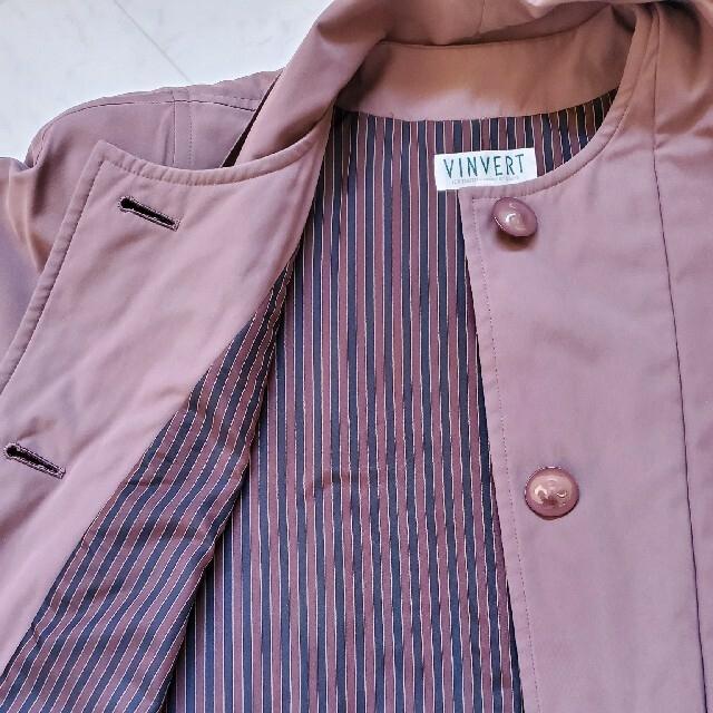 【美品】 VINVERT コート トレンチコート アウター ジャケット レディースのジャケット/アウター(トレンチコート)の商品写真