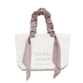 snidel - オーガニックキャンバスバッグ BIG SNIDEL HOME