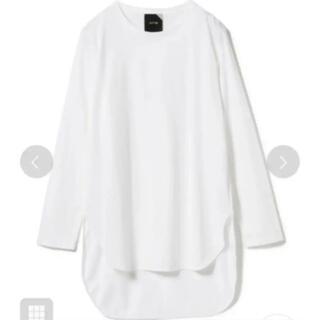DEUXIEME CLASSE - ATON エイトン スビン ラウンドヘム ロングスリーブTシャツ