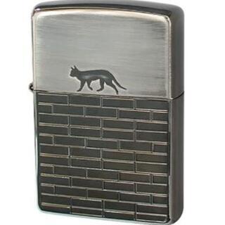 ジッポー(ZIPPO)のZippo(ジッポ) オイル ライター NO200 キャットウォーク ブラック(タバコグッズ)
