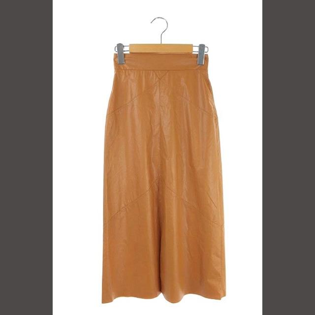 Isabel Marant(イザベルマラン)のイザベルマラン ISABEL MARANT DOMI モダン レザースカート 台 レディースのスカート(ロングスカート)の商品写真