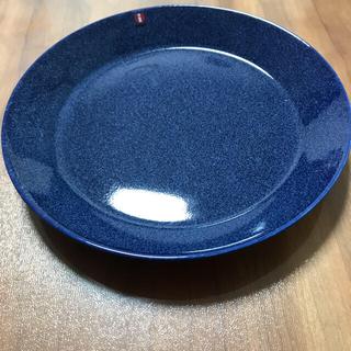 イッタラ(iittala)のイッタラ ティーマ  新品 廃盤色ドッテドブルー21センチ(食器)