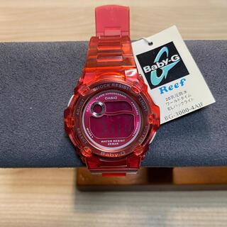 ベビージー(Baby-G)のCASIO カシオ Baby-G デジタル腕時計 レッド(腕時計)