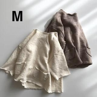 韓国子供服 anggo  カットソー クリーム M