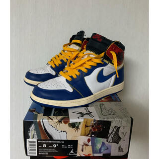 NIKE - 美品 AIR JORDAN 1 RETRO HI NRG UNION 26cm