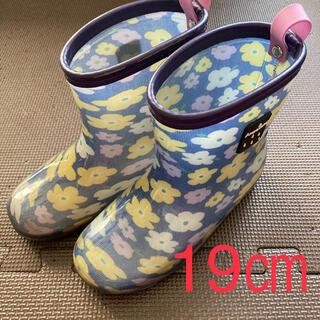 ampersand - 長靴 レインブーツ キッズ 19㎝
