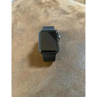Apple Watch - Apple Watch 42mm アルミ スペースグレイ