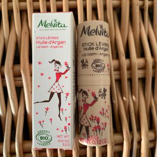 メルヴィータ(Melvita)のmelvita アルガンオイル リップバーム(リップケア/リップクリーム)