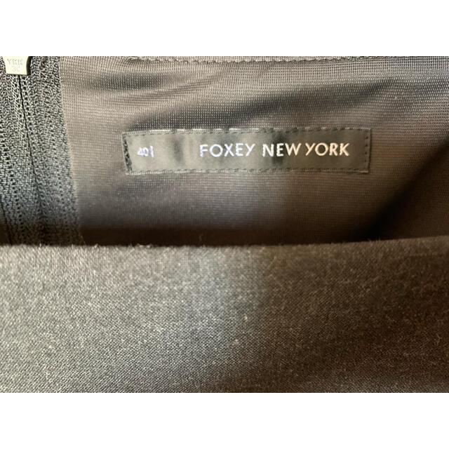 FOXEY(フォクシー)の【フォクシー】ワンピース グレー 40 レディースのワンピース(ひざ丈ワンピース)の商品写真