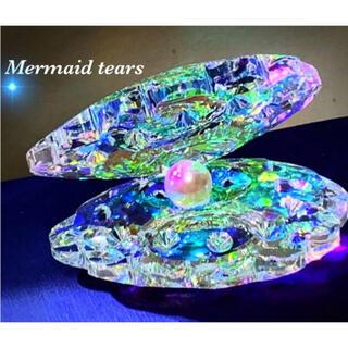 【マーメイドの涙】オーロラ スワロフスキー置物 真珠♡✨(置物)