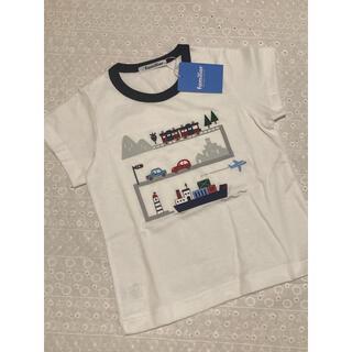 familiar - ファミリア Tシャツ 100 新品