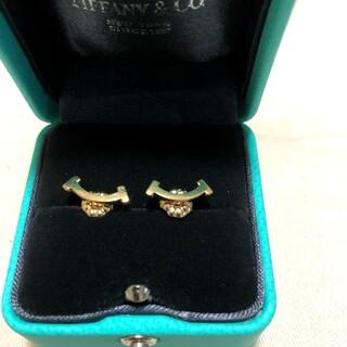 Tiffany & Co. - ティファニー Tスマイル ピアス 750 現行品