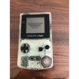 ニンテンドウ(任天堂)のゲームボーイカラー 本体(携帯用ゲーム機本体)