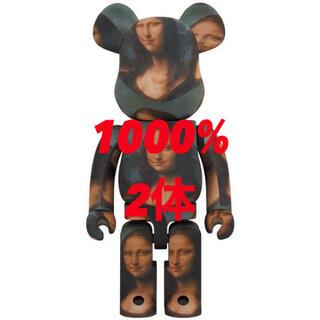 メディコムトイ(MEDICOM TOY)のBE@RBRICK  Mona Lisa 1000% 2体(その他)