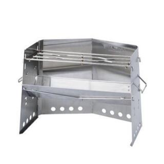 ユニフレーム(UNIFLAME)のユニフレーム 薪グリル レギュラーサイズ 新品未使用 BBQ 焚き火(調理器具)