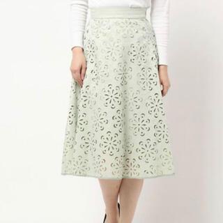 PROPORTION BODY DRESSING - PROPORTIONBODYDRESSING フラワーカットワークミディスカート
