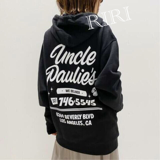 L'Appartement DEUXIEME CLASSE - UNCLE PAULIE'S HOODED SWAT SHIRT パーカー