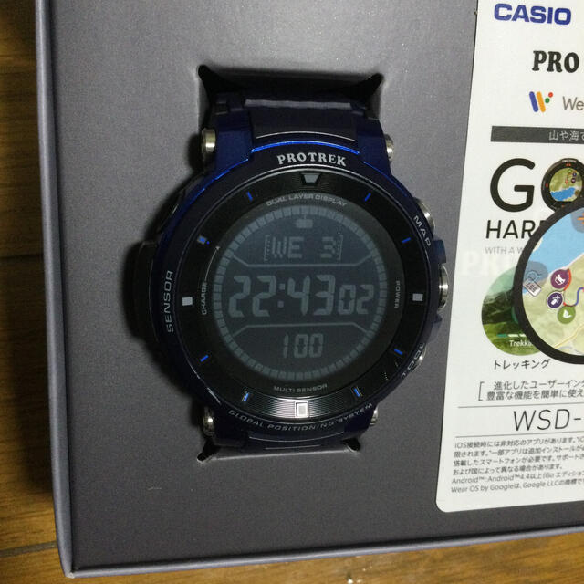 CASIO(カシオ)のカシオ プロトレックスマート WSD-F30-BU メンズの時計(腕時計(デジタル))の商品写真