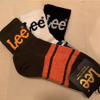 リー(Lee)のLee 靴下 3足セット 25 - 27cm(ソックス)