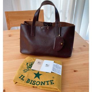 イルビゾンテ(IL BISONTE)の美品!人気型 正規品 イルビゾンテ トートバッグ  ミラー付き(トートバッグ)