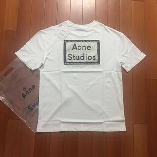 ACNE - サイズS白Acne studios Tシャツ