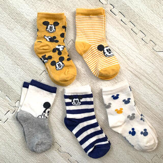H&M - 靴下 5足組 Mickey