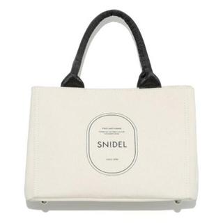 snidel - snidel キャンバスエコバッグ IVR