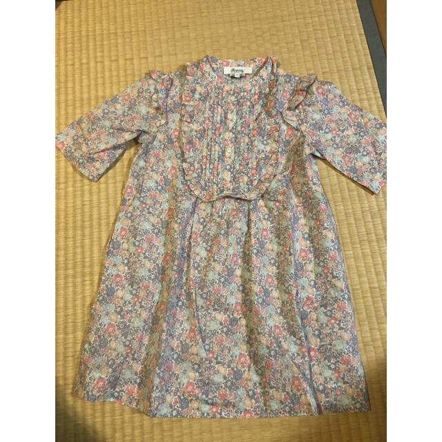 Bonpoint(ボンポワン)のbonpoint  6a キッズ/ベビー/マタニティのキッズ服女の子用(90cm~)(ワンピース)の商品写真