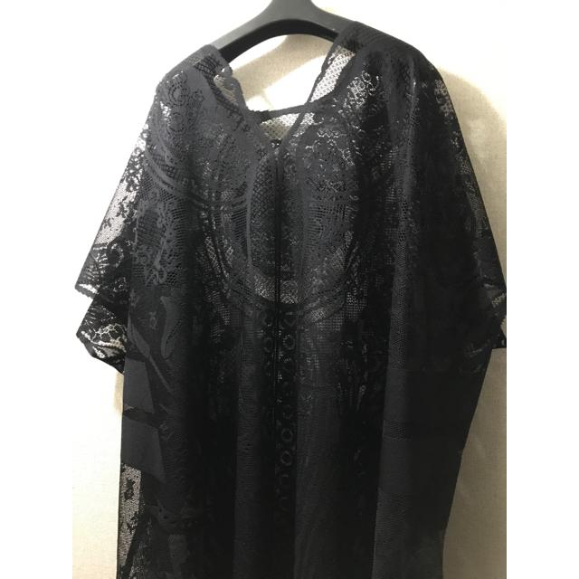 Curtain Lace Dress  black mamekurogouchi レディースのワンピース(ロングワンピース/マキシワンピース)の商品写真