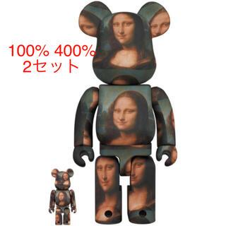 メディコムトイ(MEDICOM TOY)のBE@RBRICK Mona Lisa 100% 400% 2セット(その他)