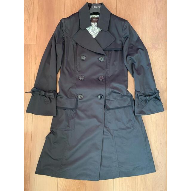 JUSGLITTY(ジャスグリッティー)の【ジャスグリッティー】トレンチコート  黒 レディースのジャケット/アウター(トレンチコート)の商品写真
