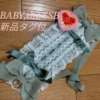 BABY,THE STARS SHINE BRIGHT - 新品タグ付き★BABY,theSSB★プリンセスドロップ付ヘッドドレス★送料無料
